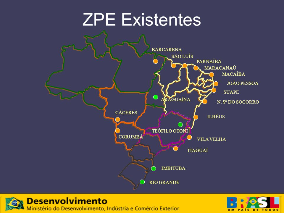 ZPE Existentes N.