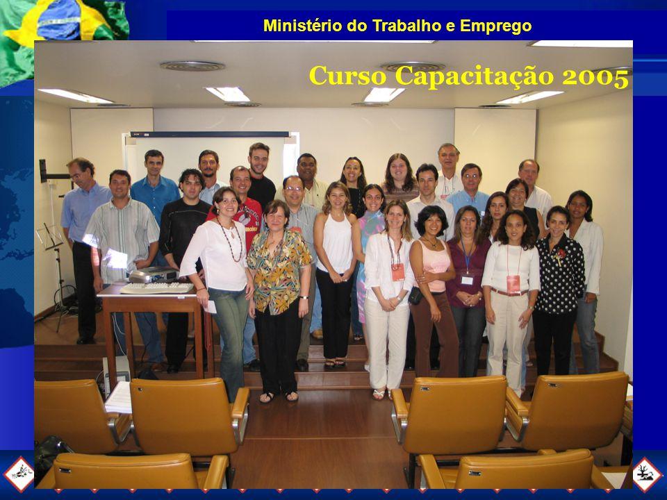 Ministério do Trabalho e Emprego Curso Capacitação 2005