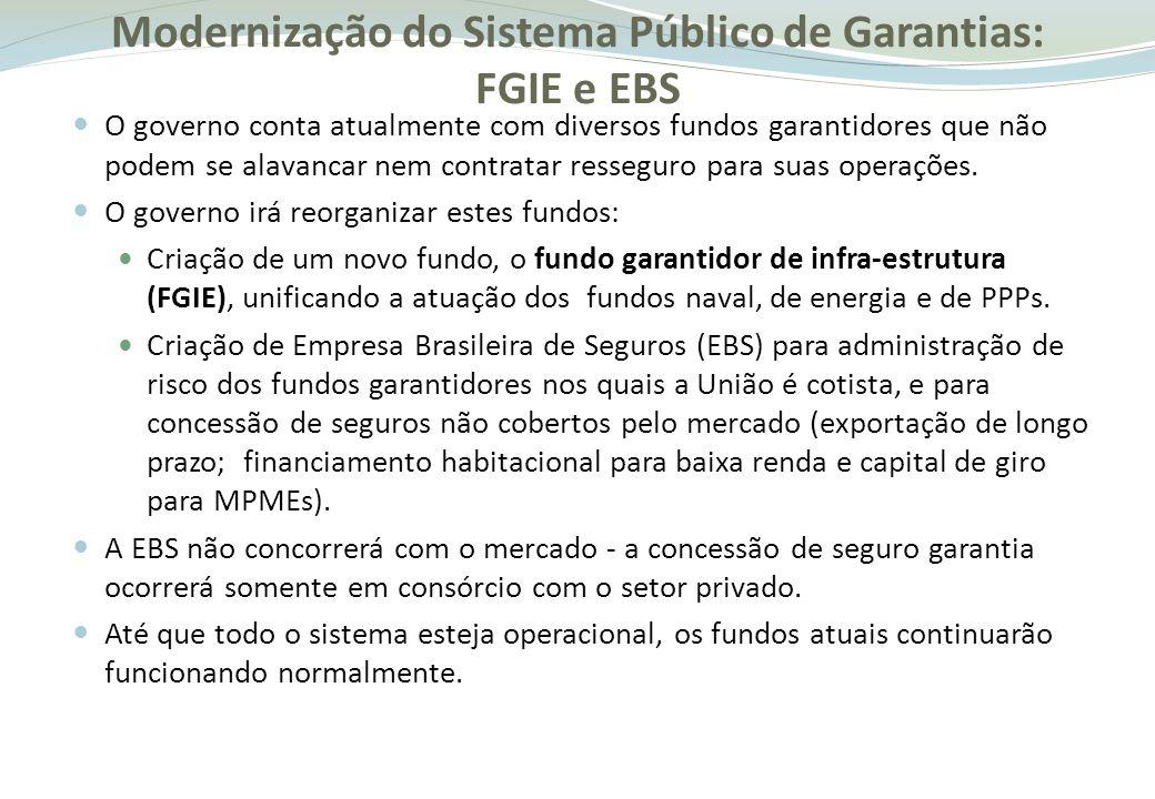 Fundo Garantidor de Comércio Exterior (FGCE).