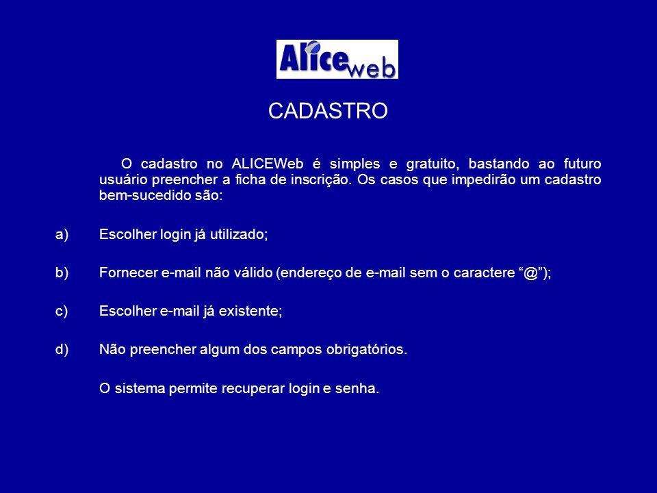 ALTERAÇÃO CADASTRAL