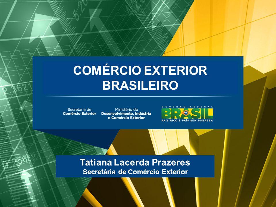 BALANÇA COMERCIAL BRASILEIRA Maio/2011 COMÉRCIO EXTERIOR BRASILEIRO Tatiana Lacerda Prazeres Secretária de Comércio Exterior