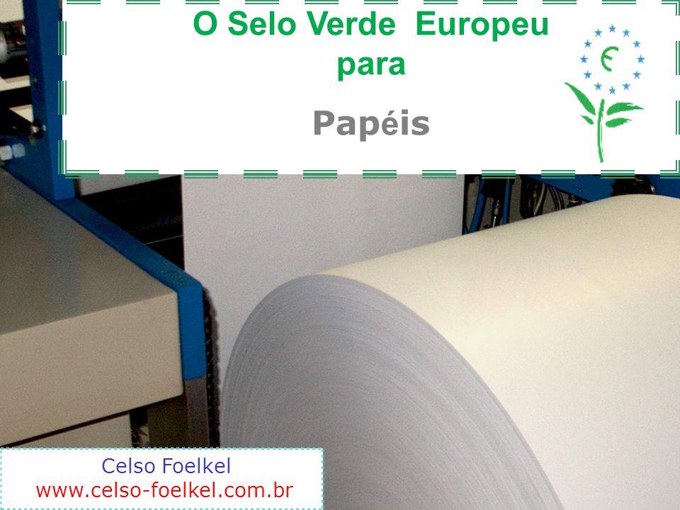 Para encontrar o detalhamento dos critérios para o papel para cópia e gráficas Detalhamento dos critérios podem ser encontrados em: http://ec.europa.eu/environment/ecolabel/ecolabelled_product s/categories/copying_paper_en.htm