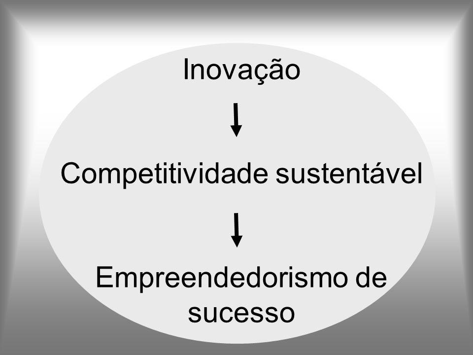 Inovação Competitividade sustentável Empreendedorismo de sucesso