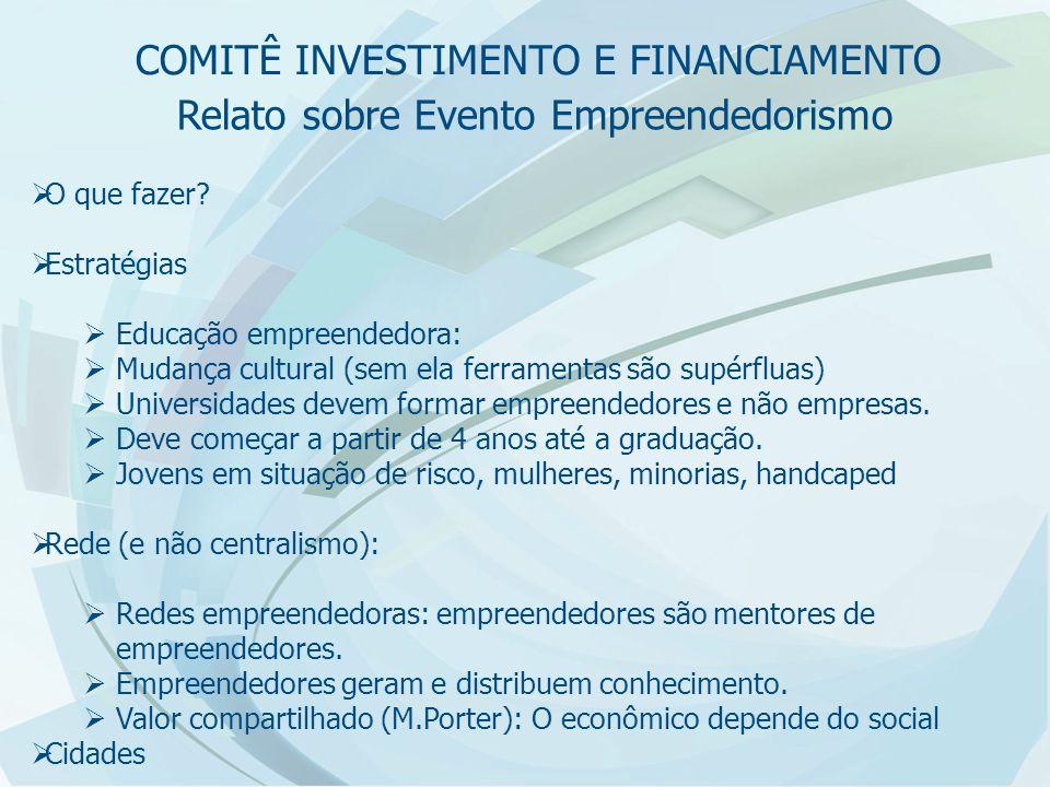 Relato sobre Evento Empreendedorismo  Enio Pinto: Desafios para as Pequenas Empresas  Contexto Mundial: Mercado globalizado, Economia em expansão e conectado com mercados internacionais, competição com padrões internacionais.