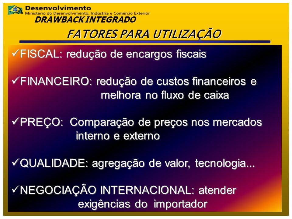 A concessão do ato é condicionada à realização do compromisso de exportar, no prazo estipulado, os produtos previstos (mesma NCM) na quantidade e valor determinados, preparados com a utilização das mercadorias importadas e adquiridas no mercado interno.