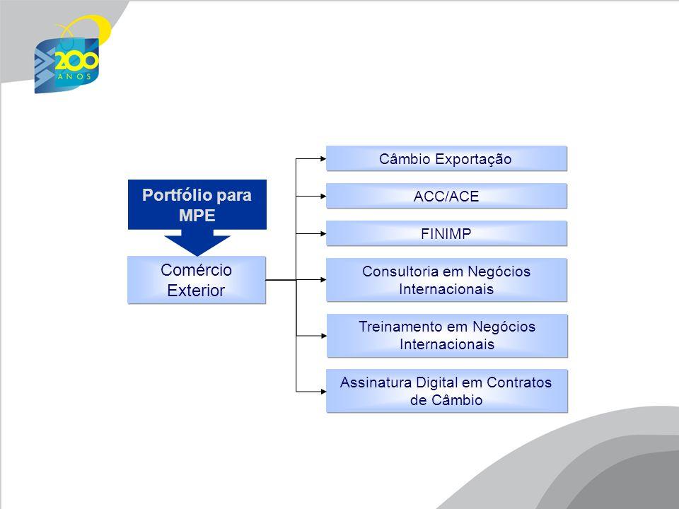 Comércio Exterior ACC/ACE Câmbio Exportação FINIMP Consultoria em Negócios Internacionais Treinamento em Negócios Internacionais Assinatura Digital em Contratos de Câmbio Portfólio para MPE