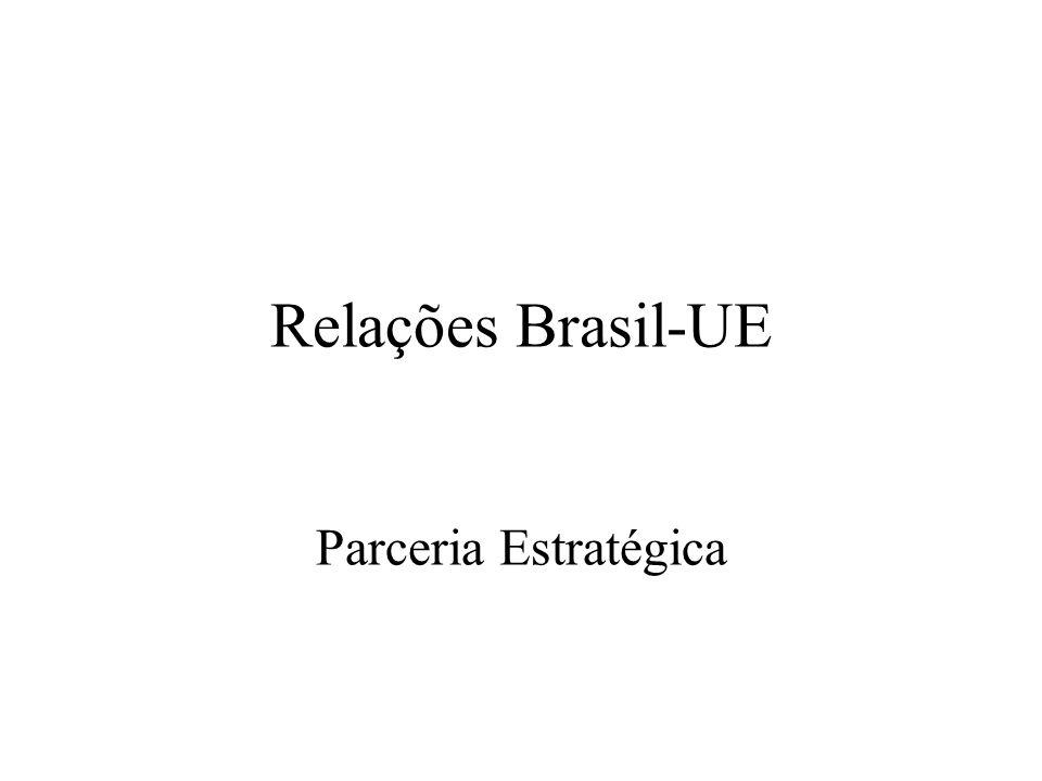 Relações Brasil-UE Parceria Estratégica