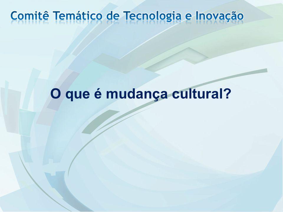 O que é mudança cultural?
