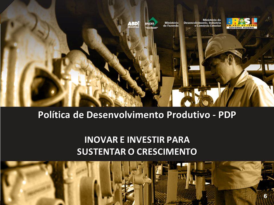 Tornar os instrumentos e incentivos disponibilizados pela PDP mais conhecidos e mais utilizados pelas empresas; Promover a integração entre as medidas da PDP com os instrumentos de apoio ao desenvolvimento industrial e inovação existentes nos Estados brasileiros; Avaliar como as ações da RENAPI têm impactado no aumento da competitividade e da inovação nas empresas, individualmente; Instalar 15 Núcleos Estaduais RENAPI até 2010, em cumprimento as metas da PDP, no âmbito do Desafio Estratégico Regionalização; Implantar o ambiente digital, via Portal Inovação, para interação entre os integrantes da Rede; Buscar atuação conjunta com os programas de extensionismo industrial e tecnológico do Governo Federal (SIBRATEC e PEIEX).