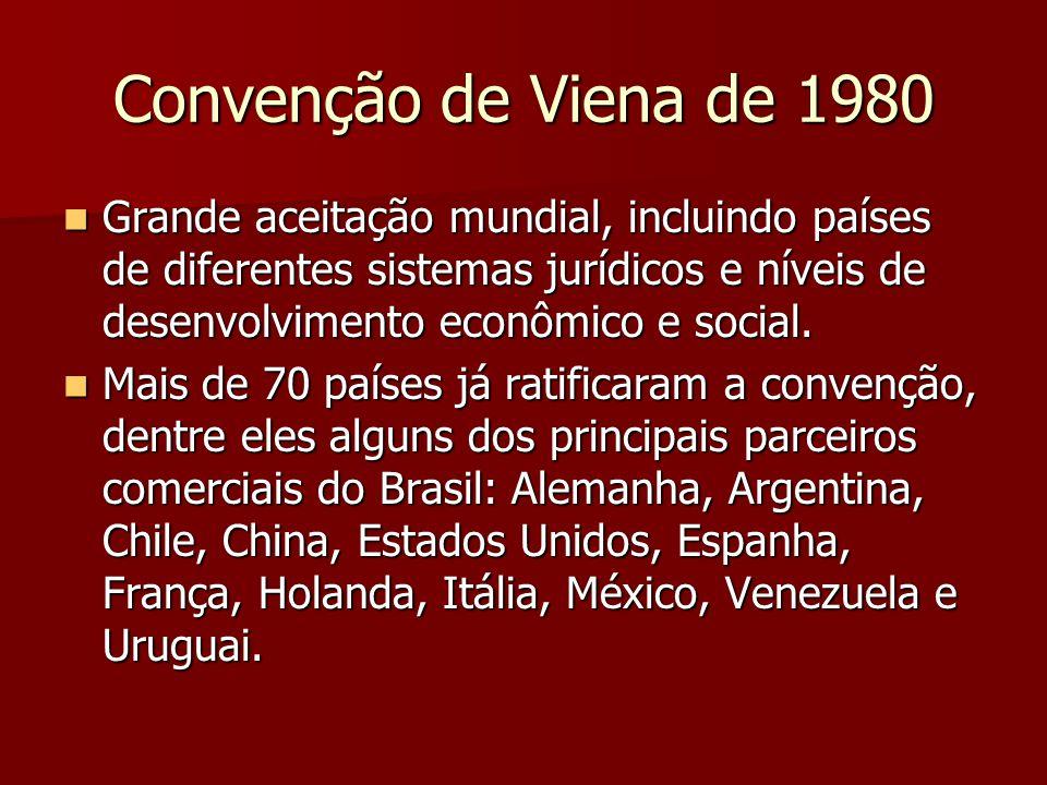 Convenção de Viena de 1980 – Campo de Aplicação 1.