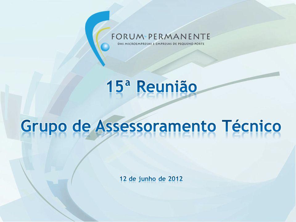 Comitê Inovação e Tecnologia Status em 11/06/12