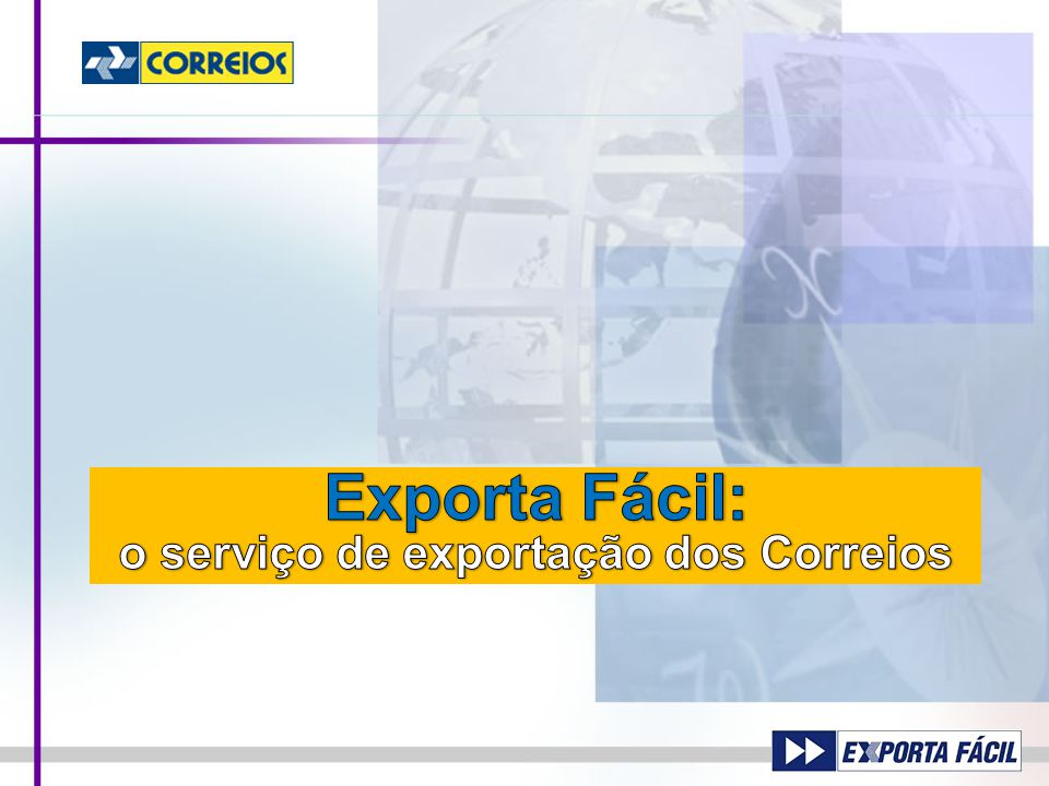 2 Vendedor Exportador Comprador Importador Logística postal a serviço do comércio internacional Brasil Mundo Meios de Entrega
