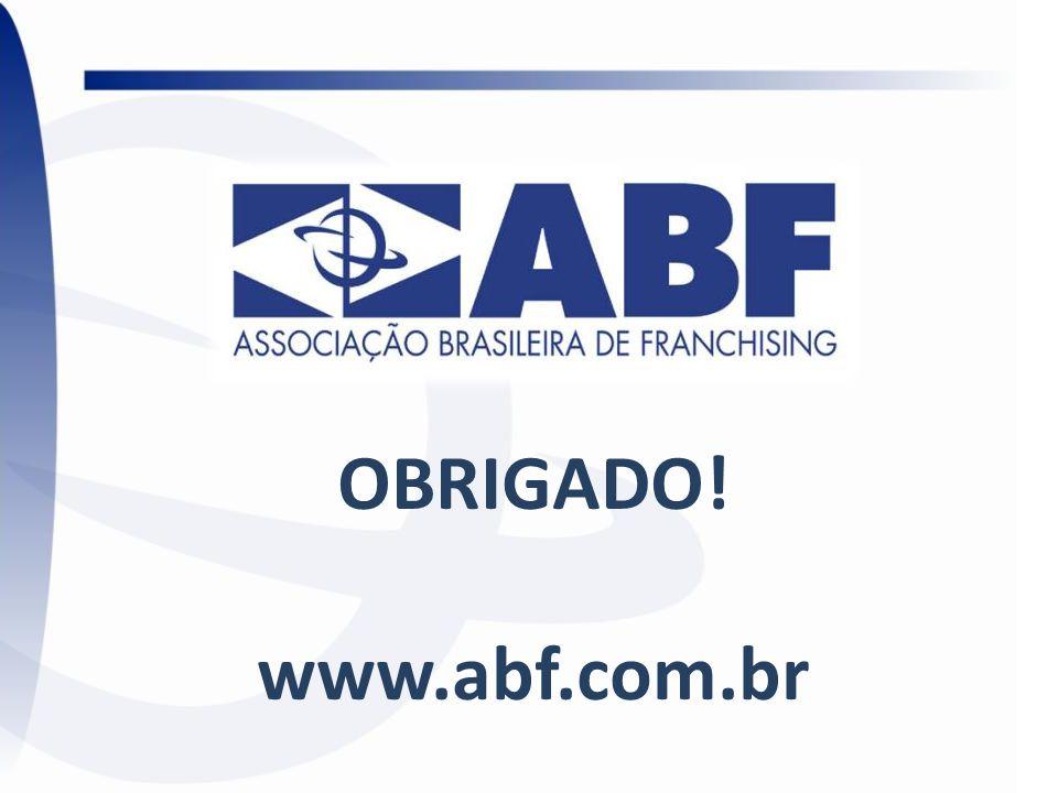 OBRIGADO! www.abf.com.br