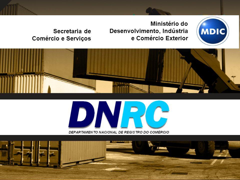 Secretaria de Comércio e Serviços Ministério do Desenvolvimento, Indústria e Comércio Exterior