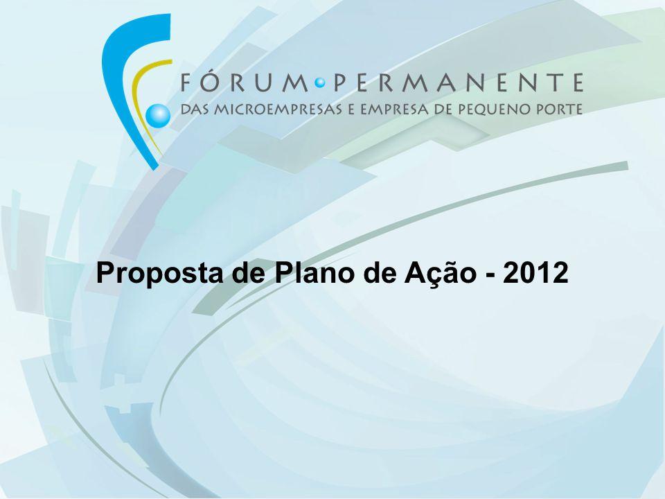 Proposta de Plano de Ação - 2012