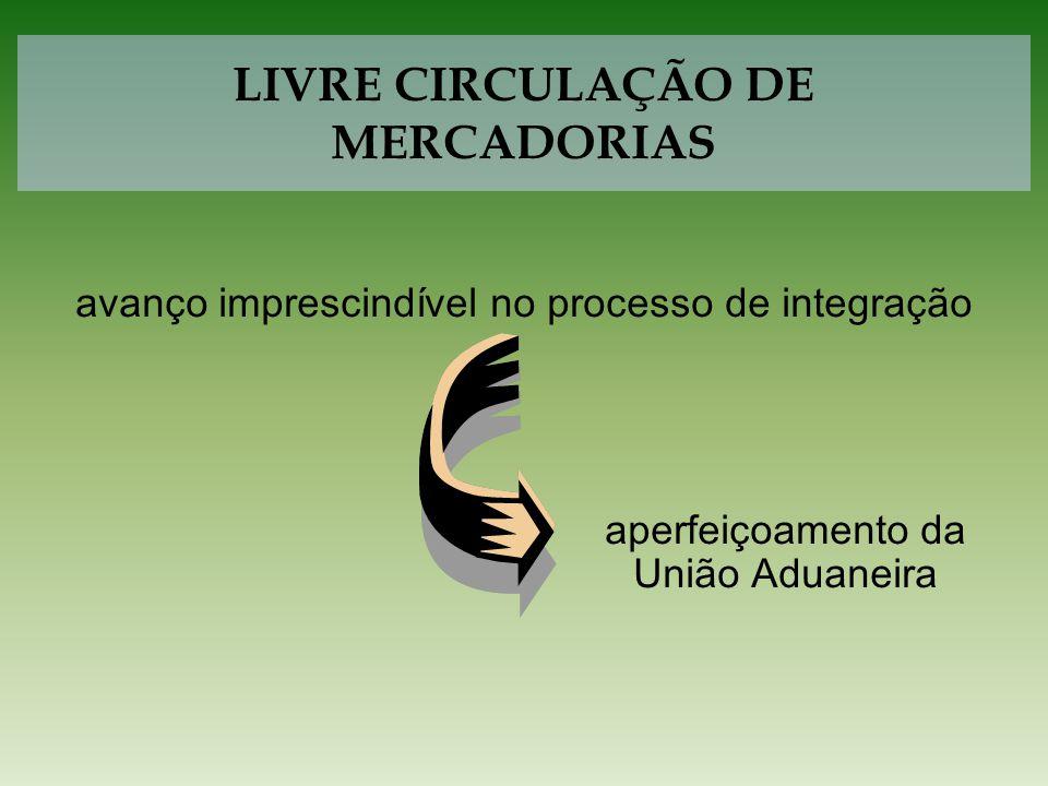 Decisão CMC nº 37/05 Decreto nº 5.738, de 30 de março de 2006 As Aduanas certificarão o cumprimento da Política Tarifária Comum (PTC).