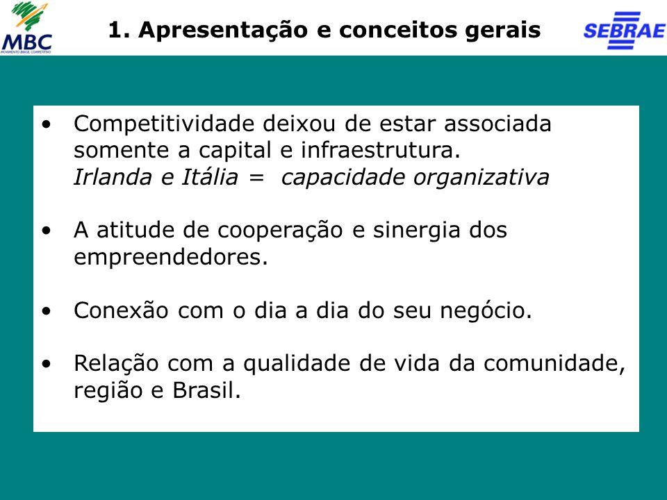 Competitividade Empresarial Qual é o impacto nos dois outros níveis de competitividade – sistêmico e estrutural.