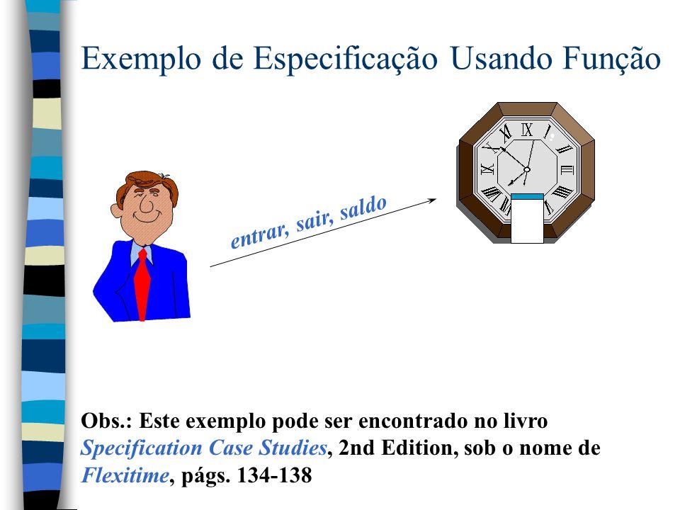 Conjuntos Finitos (cont.) Cardinalidade [X] # __ : F X  N  S: F X   n: N; f:1.. n S  # S = n  > Funções Finitas Parciais Parciais Injetivas