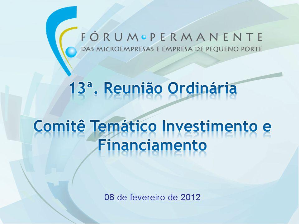 Abertura e Informes GeraisCoordenadores e Secretaria Técnica Aprovação da Memória da 12ª Reunião Ordinária.