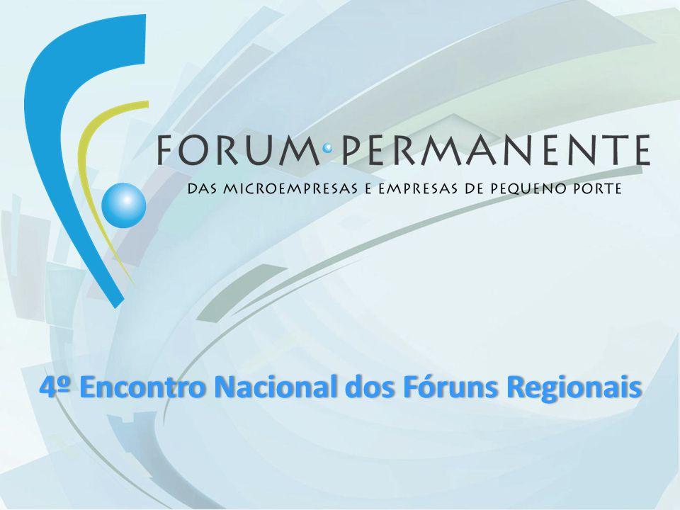4º Encontro Nacional dos Fóruns Regionais4º Encontro Nacional dos Fóruns Regionais