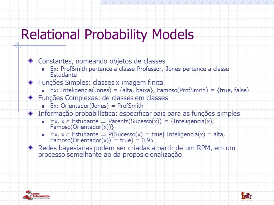 41 Relational Probability Models Figs. RPM
