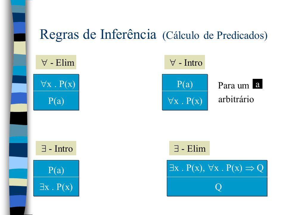Exercício n Prove o seguinte teorema: P  Q P  Q