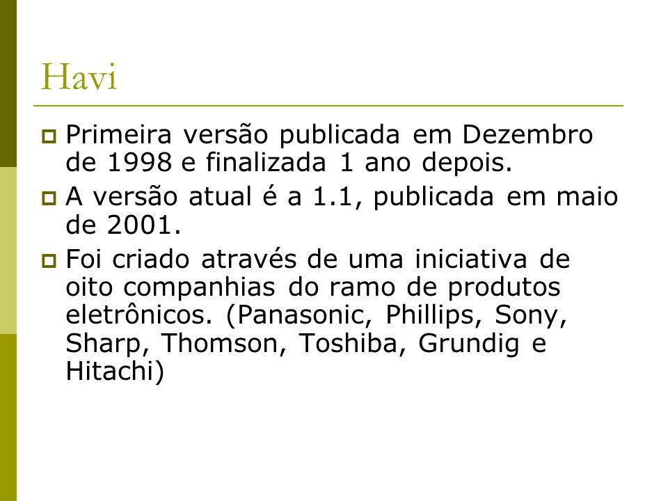 Havi  Primeira versão publicada em Dezembro de 1998 e finalizada 1 ano depois.