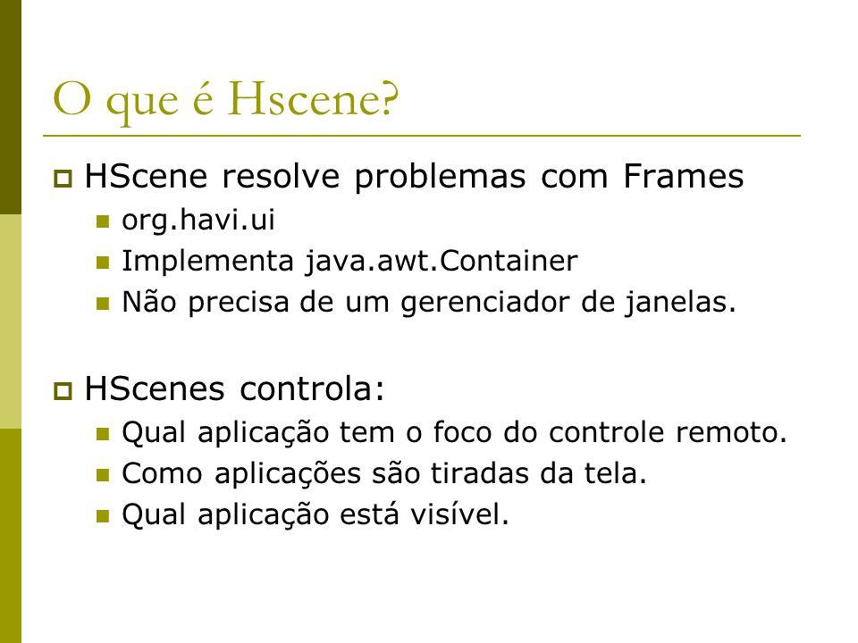 O que é Hscene.