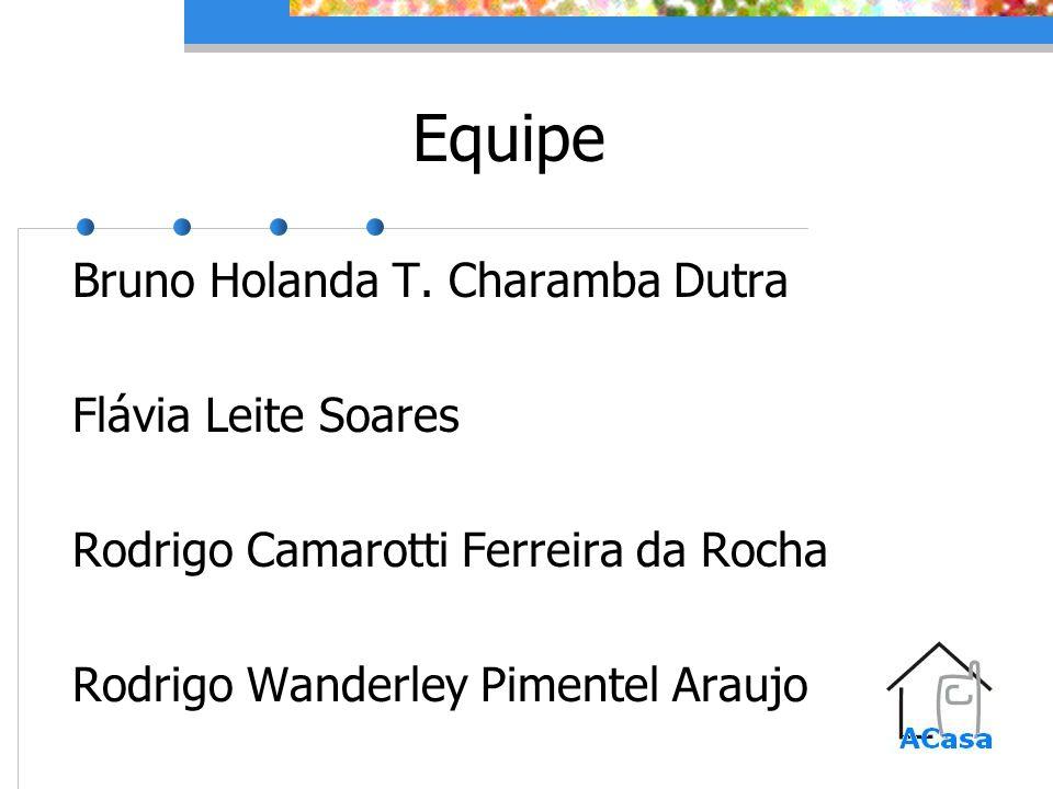 Equipe Bruno Holanda T. Charamba Dutra Flávia Leite Soares Rodrigo Camarotti Ferreira da Rocha Rodrigo Wanderley Pimentel Araujo