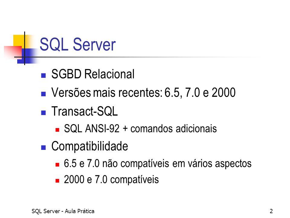Bancos de Dados I Inserindo Registros Fábio Ávila Ávila Sistemas Ltda. Grupo Recife de TI