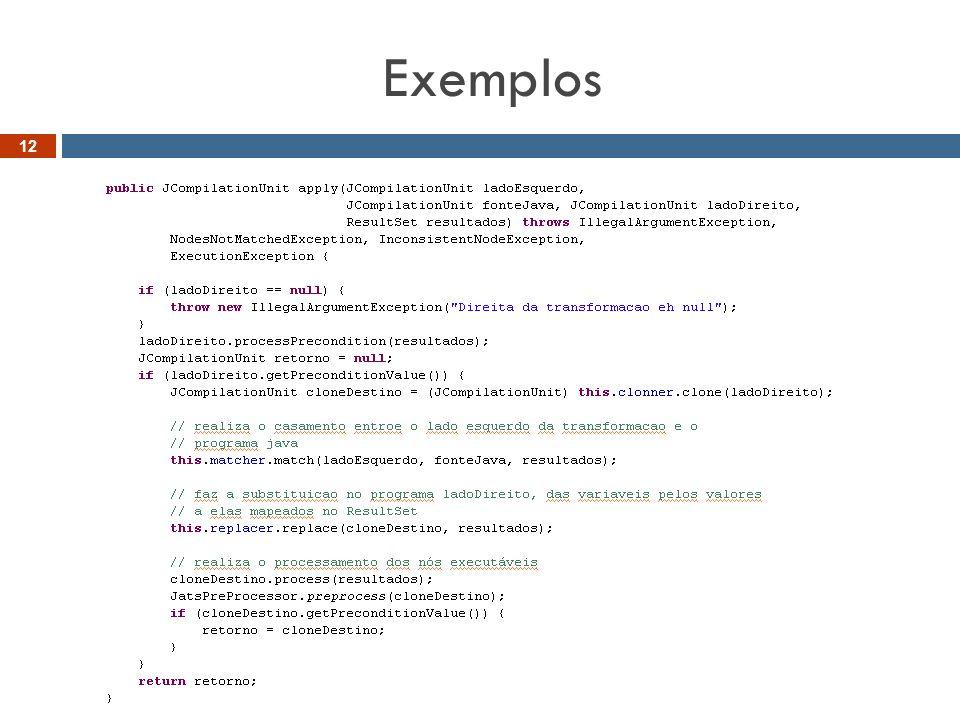 Exemplos 12