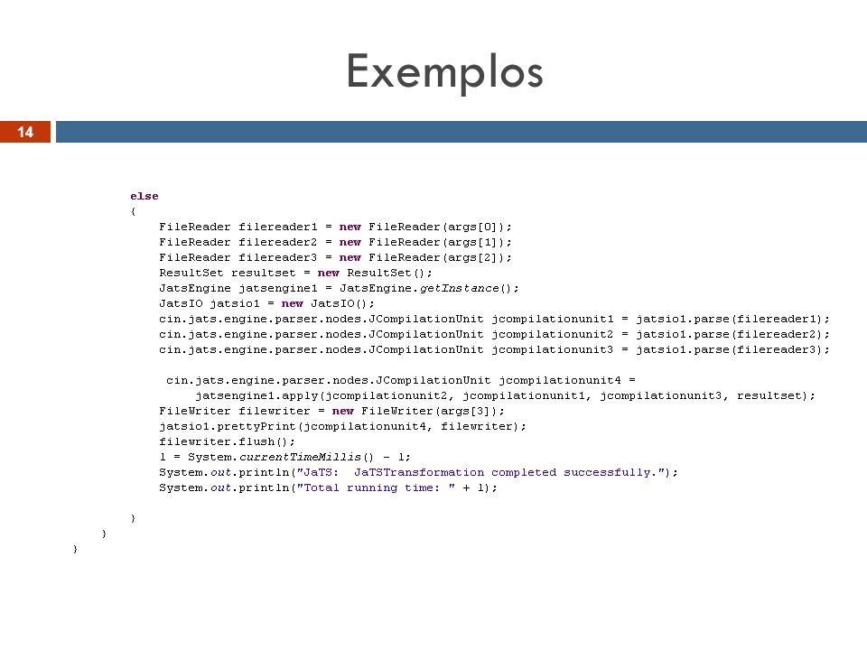 Exemplos 14