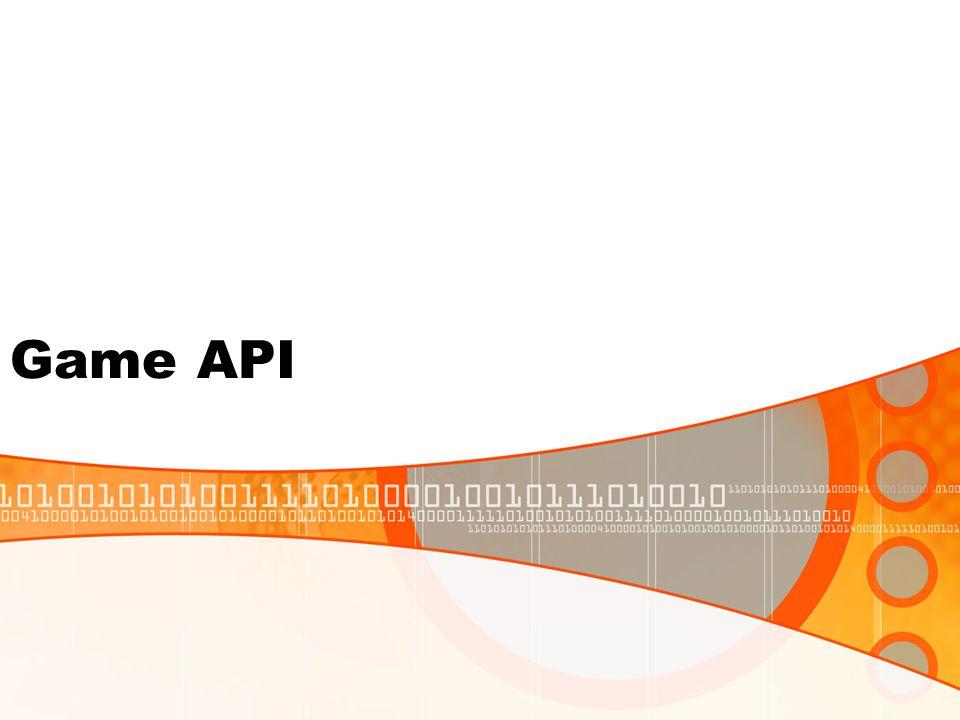 Game API