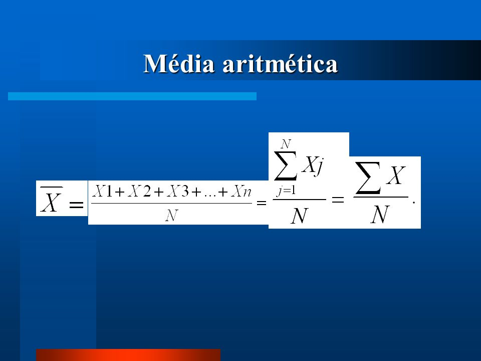 Média aritmética