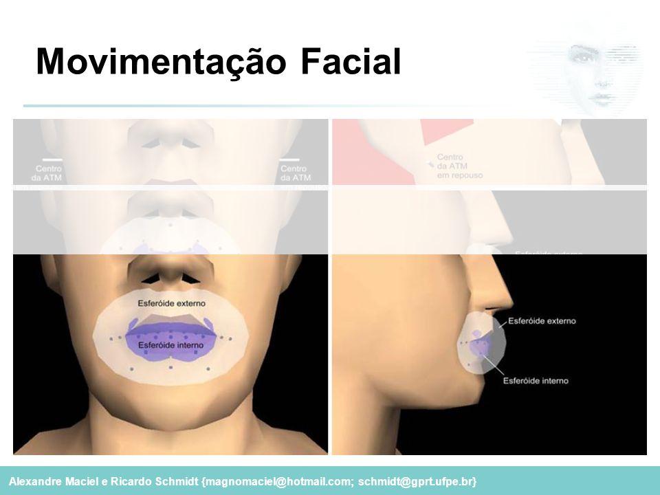 Alexandre Maciel e Ricardo Schmidt {magnomaciel@hotmail.com; schmidt@gprt.ufpe.br} Movimentação Facial