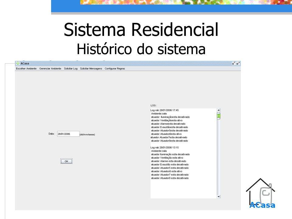 Sistema Residencial Histórico do sistema