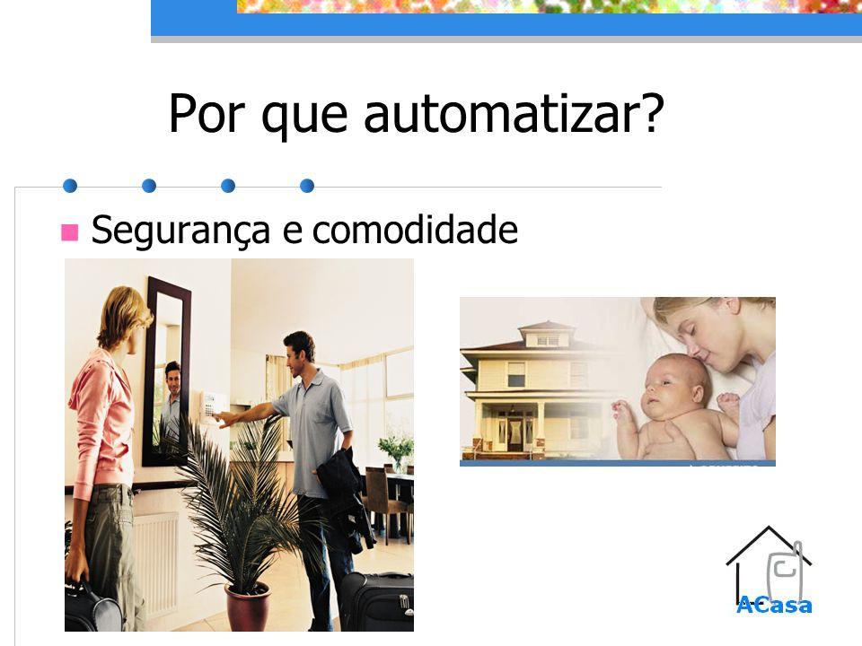 Por que automatizar Segurança e comodidade