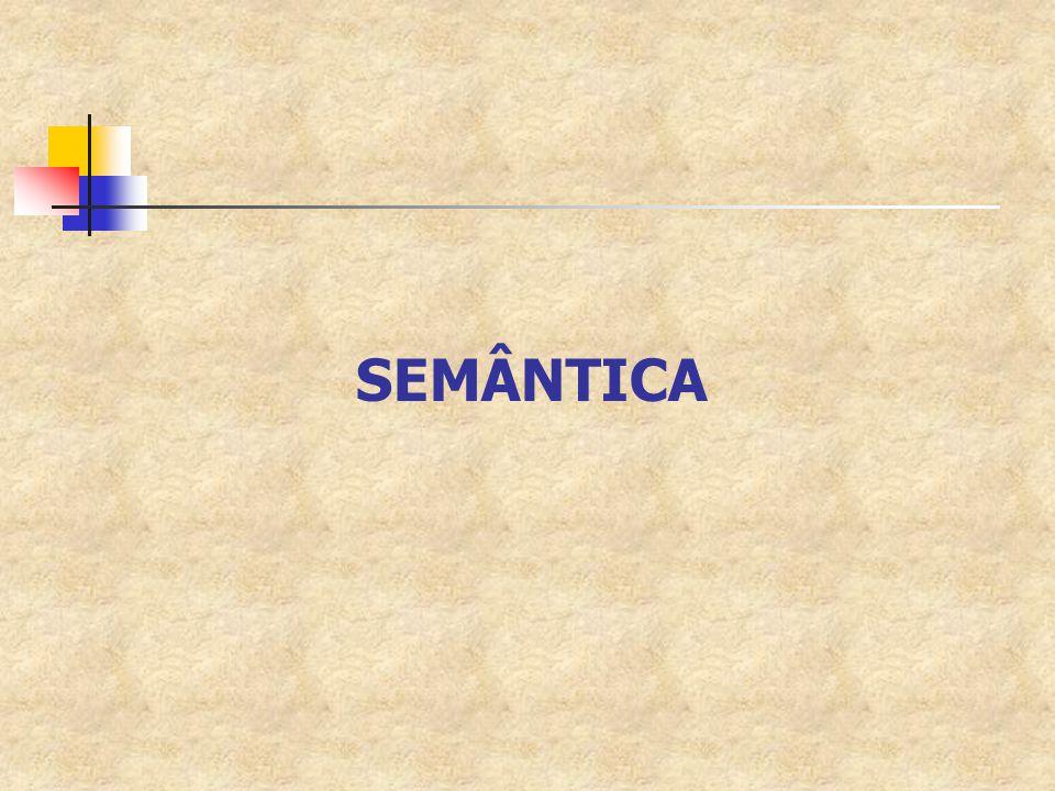 Roteiro Revisão; Sintática x Semântica; Interpretação Semântica; Propriedades Básicas; Relações entre Propriedades.