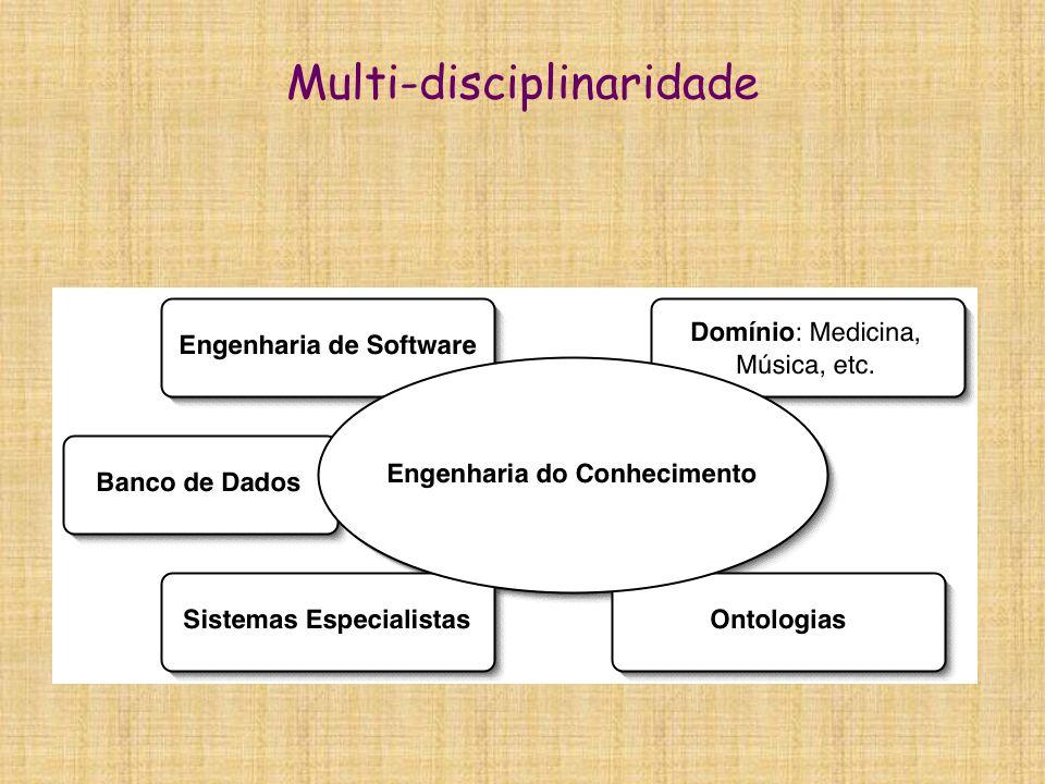 Problemas  Informações e conhecimentos complexos são de difícil compreensão  Especialistas não são unânimes, nem precisos  Variedade de representações:  texto  gráficos, imagens  heurísticas, regras