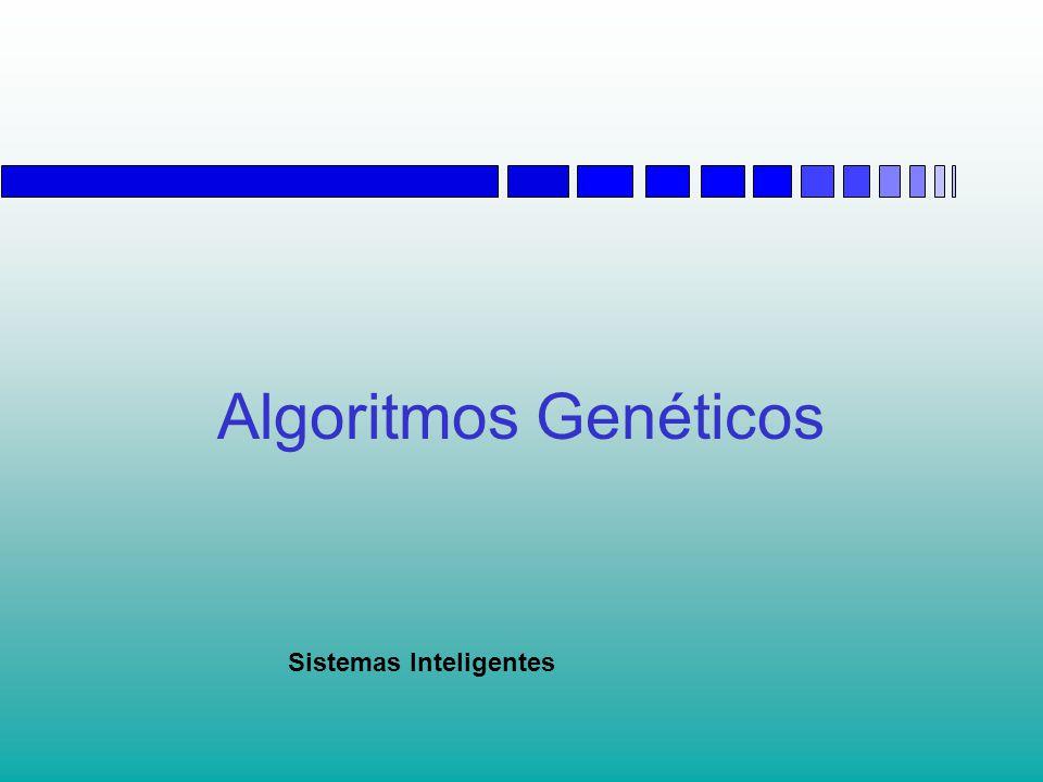 Algoritmos Genéticos Conteúdo  Introdução  O Algoritmo Genético Binário  Noções de Otimização  O Algoritmo Genético com Parâmetros Contínuos  Aspectos Práticos e Avançados  Aplicações