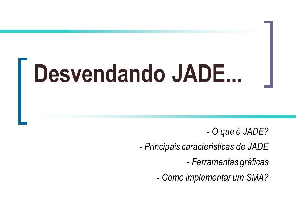 Desvendando JADE...- O que é JADE.