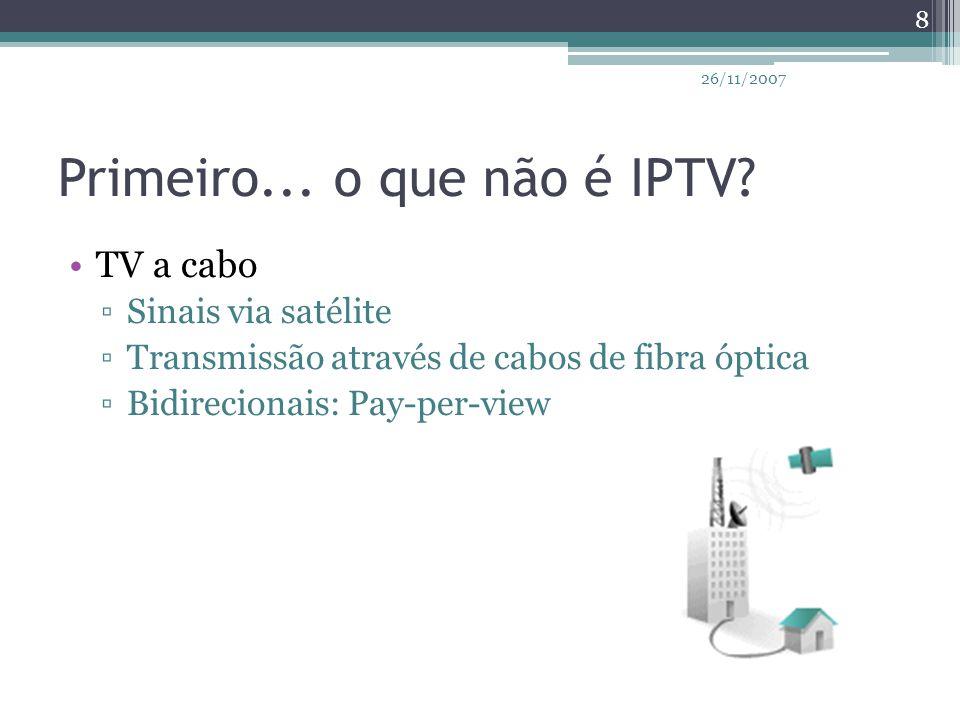 IPTV no Brasil...