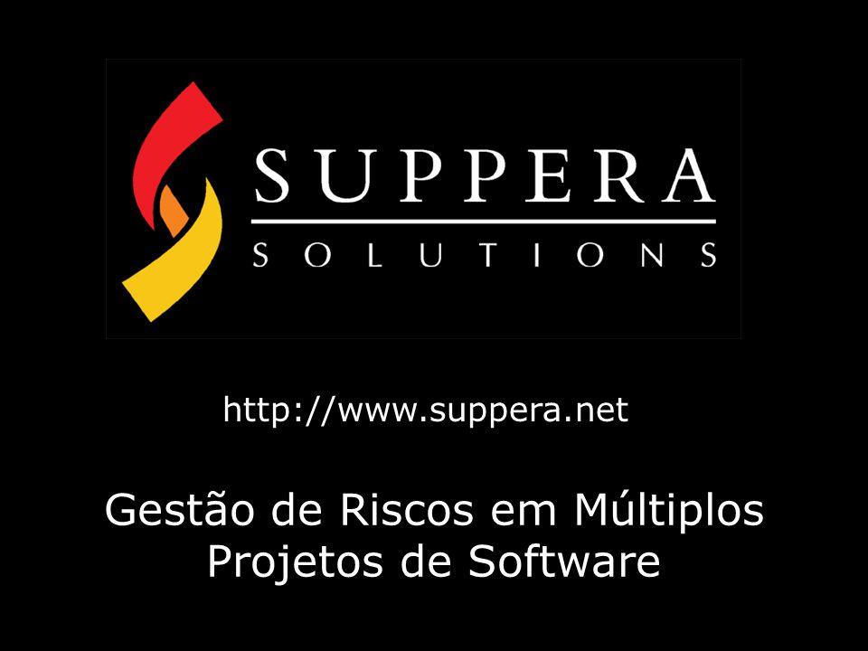 Gestão de Riscos em Múltiplos Projetos de Software http://www.suppera.net