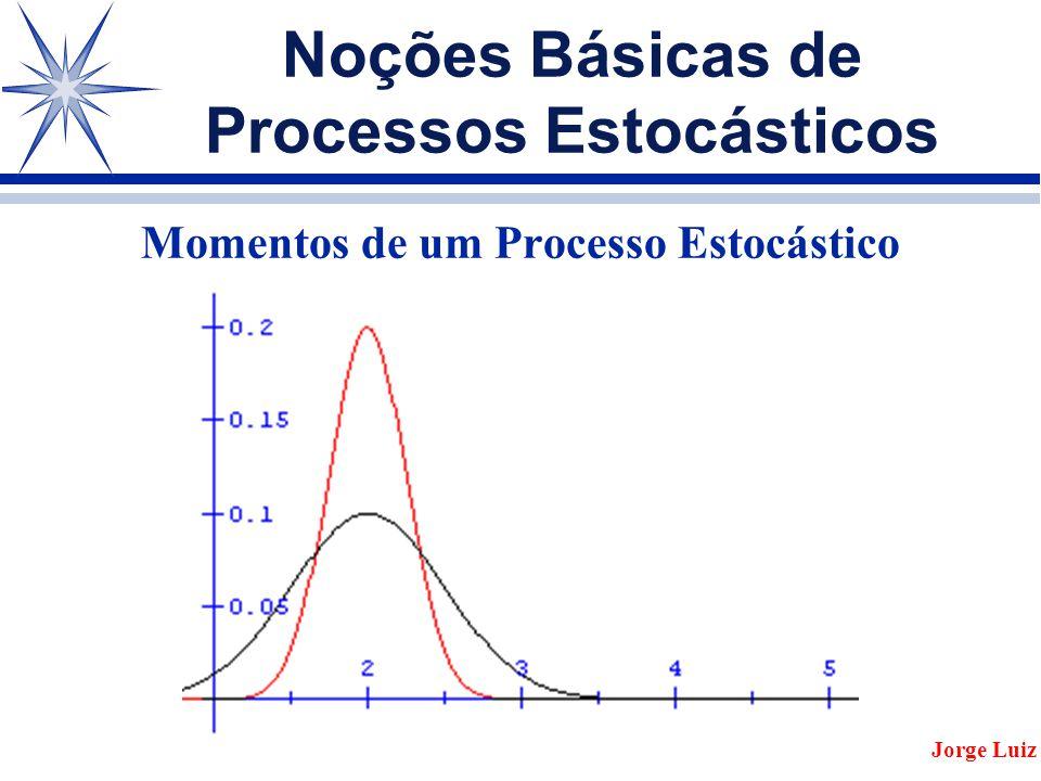 Noções Básicas de Processos Estocásticos Jorge Luiz Momentos de um Processo Estocástico