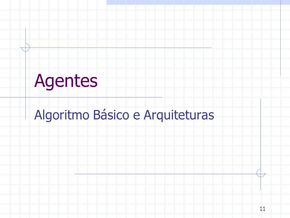 11 Agentes Algoritmo Básico e Arquiteturas