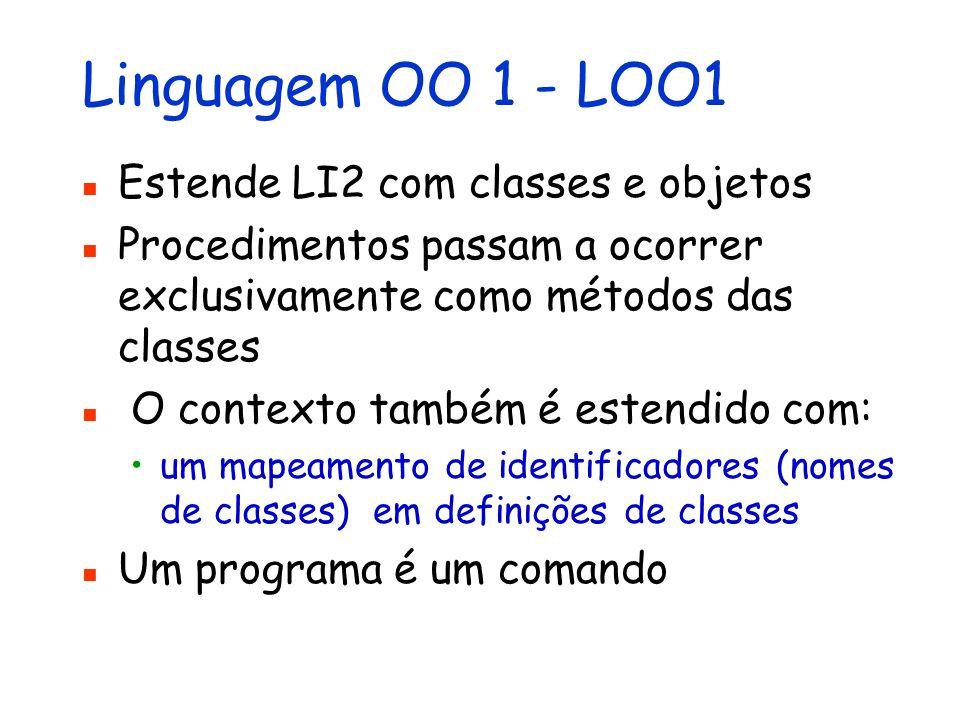 Linguagem Funcional Imperativa - LFI Integra as linguagens LF2 e LI2 Um programa é uma expressão ou um comando