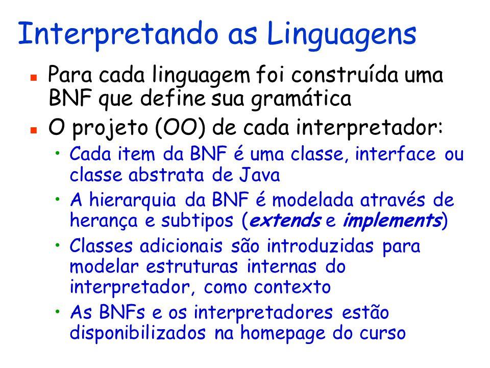 Linguagem Funcional Imperativa OO (LFIOO) Integra as linguagens LF2 e LOO2 Um programa é uma expressão ou um comando
