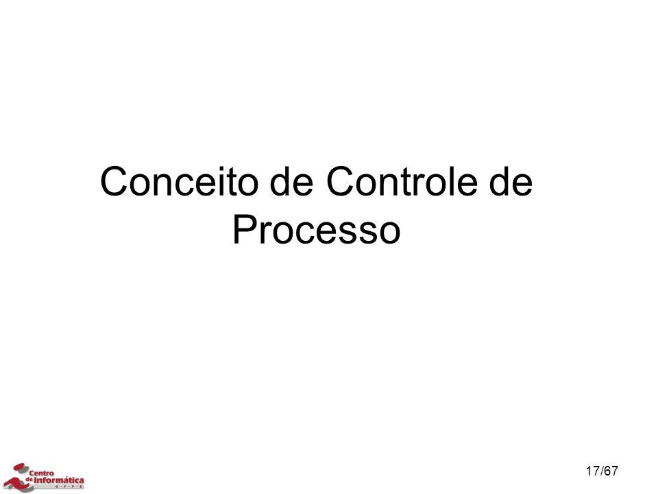 Conceito de Controle de Processo 17/67