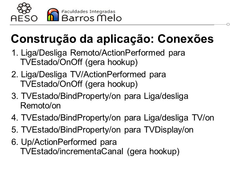 Construção da aplicação: Conexões 1.