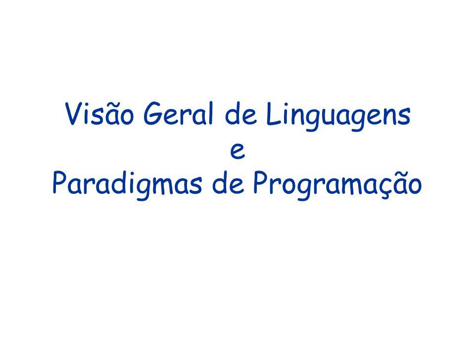 Bibliografia –Conceitos e Paradigmas de Programação via Projeto de Interpretadores.